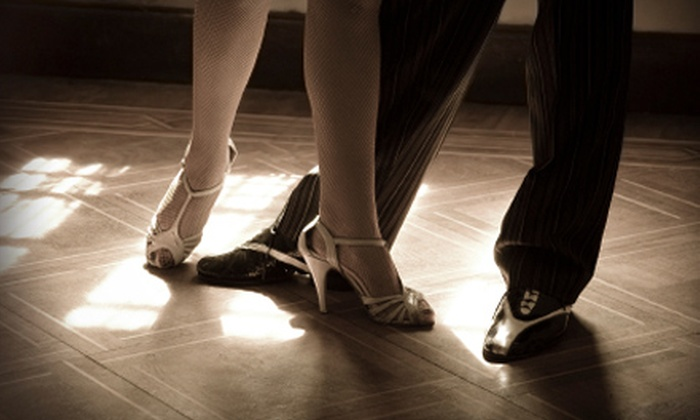 Charlotte Ballroom Dance Academy - Matthews: $25 for Two Private Ballroom-Dance Lessons and One Group Lesson at Charlotte Ballroom Dance Academy in Matthews ($213 Value)