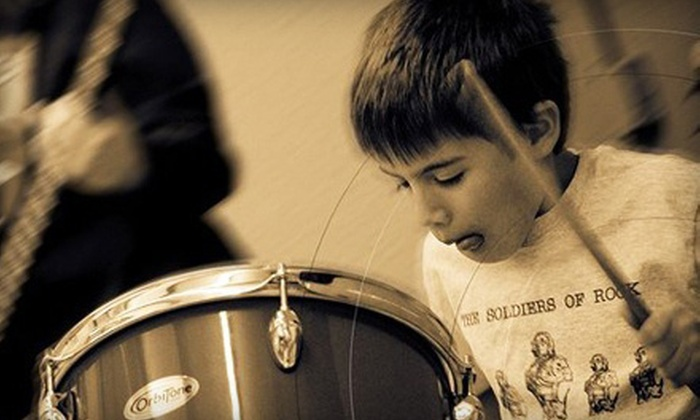 Creative Soul School of Music - Multiple Locations: Summer Music Adventures or Rock Music Camp at Creative Soul School of Music (Up to 56% Off). Four Options Available.