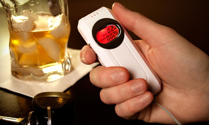 P-BAT - Lincoln Park: $24 for a Personal Breath Alcohol Tester with Shipping Included from P-BAT ($55.90 Value)