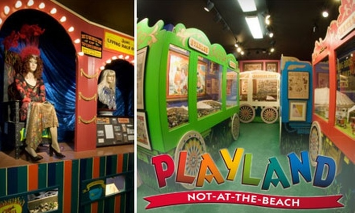 Playland-Not-at-the-Beach - El Cerrito: Admission to Playland-Not-At-The-Beach in El Cerrito. Choose from Two Options.