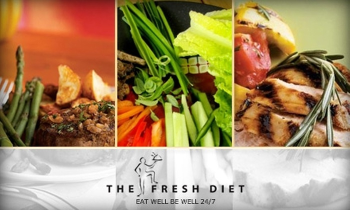 The Fresh Diet: $29 for One Day of Three Fresh, Healthy Meals and Two Snacks from The Fresh Diet ($60 Value)