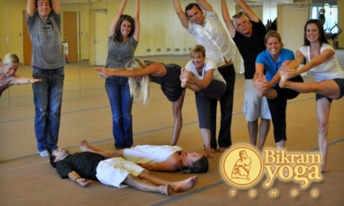 Bikram Yoga Tempe - Optimist Park SW: $39 for Two Months of Unlimited Classes at Bikram Yoga Tempe (Up to $300 Value)
