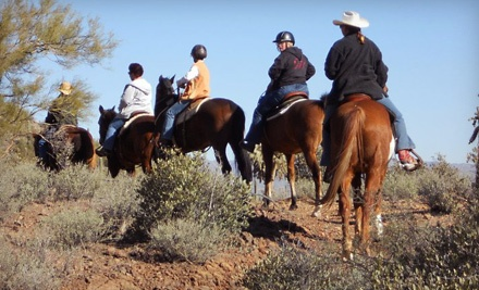 Trail Ride of Up to 2.5 Hours for 1 (a $75 value) - Cowgirls & Company in Tucson