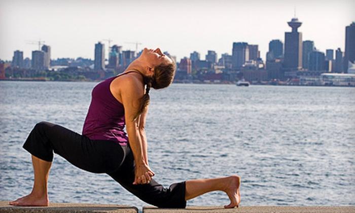 Body Harmony Yoga Studio - North Vancouver: $59 for 10 Drop-In Yoga Classes at Body Harmony Yoga in North Vancouver ($150 Value)