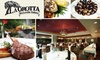 La Grotta Ristorañte Italiano - Peachtree Heights East: $25 for $50 Worth of Italian Cuisine and Drinks at La Grotta Ristorante Italiano in Buckhead