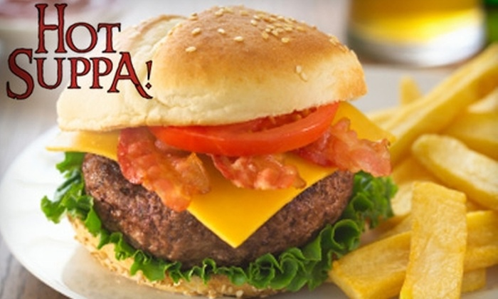 Hot Suppa! - Parkside: $19 for $40 Worth of Dinner and Drinks at Hot Suppa! in the West End