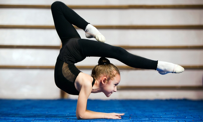 American Gymnastics - Fort Worth: One Month of Gymnastics, Tumbling, or Cheerleading Classes (75% Off). Two Options Available.