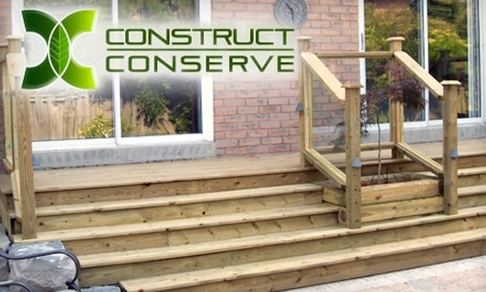 Construct & Conserve - Barrie: $75 for Two Hours of Green General Carpentry and Construction Services from Construct & Conserve ($150 Value)
