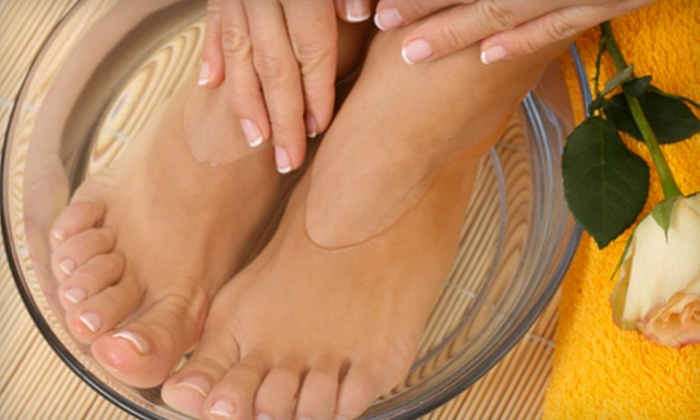 Polished: Nail and Body Sanctuary  - Tracie Hofstetter at Mane Event Salon: $35 for Spa Manicure and Pedicure at Mane Event Salon in Sebastopol ($80 Value)