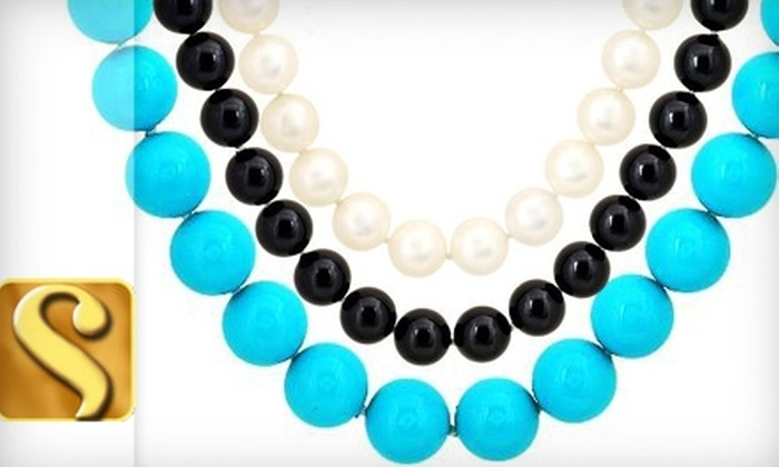 Steinhausen: $120 for Choice of Pearl Elements Necklace from Steinhausen ($416 Value)