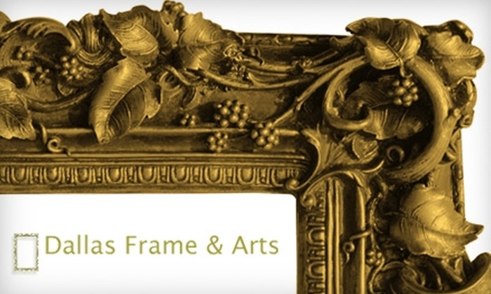 Dallas Frame & Arts - Rosedale Industrial: $49 for $100 Toward Custom Framing at Dallas Frame & Arts