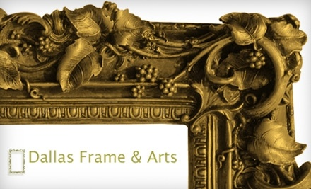 $100 Groupon to Dallas Frame & Arts - Dallas Frame & Arts in Edmonton