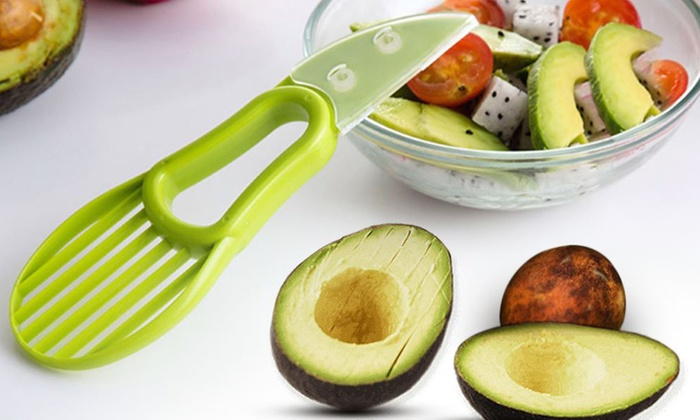 Cuchillo para aguacate 3 en 1 groupon - Cuchillo para fruta ...