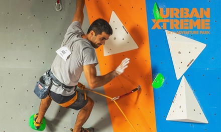 One ($15) or Two Climbing Day Passes ($28) at Urban Xtreme Adventure (Up to $56 Value)