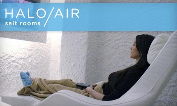 Halo Air Salt Rooms - Chelsea: Two Salt Air Treatments at Halo Air Salt Rooms. Choose from Two Options.