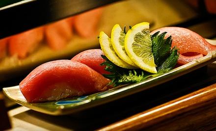 $20 Groupon to Tiger Sushi - Tiger Sushi in Baton Rouge