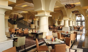 Sofra Bld: Weekday Lunch Buffet with Soft Drinks for Up to Eight at Sofra Bld, Shangri La Qaryat Al Beri (Up to 49% Off)