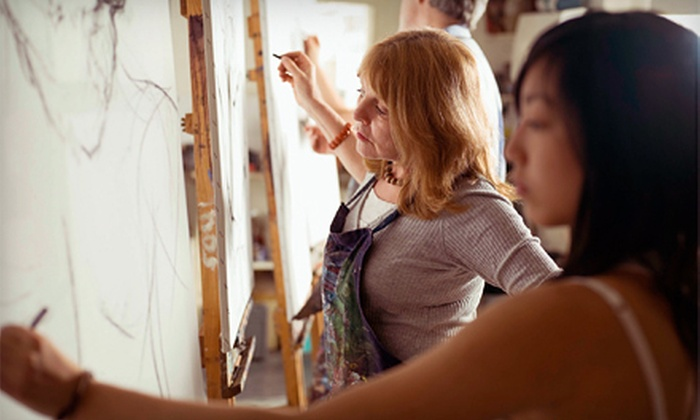 Mainstream Creative - Matthews: Two-Hour Drawing Class for One or Private Two-Hour Class for Four from Mainstream Creative in Matthews (Half Off)