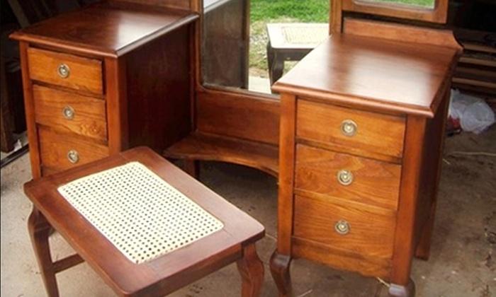 Murdock Woodworks & Furniture Repair - Baton Rouge: $45 for Two Hours of Furniture Repair from Murdock Woodworks & Furniture Repair ($90 Value)