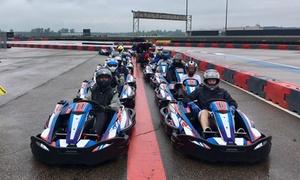 ICAR Karting: 3 sessions de karting ou une initiation au pilotage pour 1 personne chez ICAR Karting (jusqu'à 43 % de rabais)