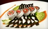 Hawa Fusion Cuisine - Coral Gables Section: $15 for $30 for Japanese-Lebanese Fusion Fare at Hawa Fusion Cuisine in Coral Gables