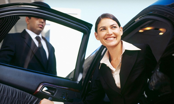 Simon's Limousine - Avon: One-Way or Roundtrip Chauffeur Service to Midway or O'Hare Airport for Up to Three from Simon's Limousine (Half Off)