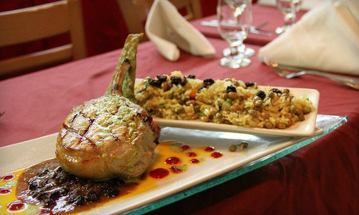 Café Nunez - Garment District: $26 for Two-Person, Three-Course Latin-American Dinner Including Appetizers, Entrees, and Desserts at Café Nunez (Up to $70 Value). $46 for Four-Person Option (Up to $140 Value).