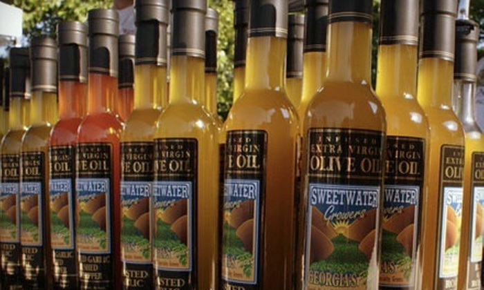Sweetwater Growers: $10 for $20 Worth of Award Winning Oils, Herbs, and More from Sweetwater Growers