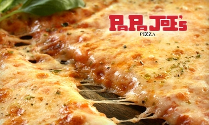 PaPa Joe's Pizza - Multiple Locations: $10 for $20 Worth of Pizza, Subs, and More at PaPa Joe's Pizza. Choose Among Four Locations.