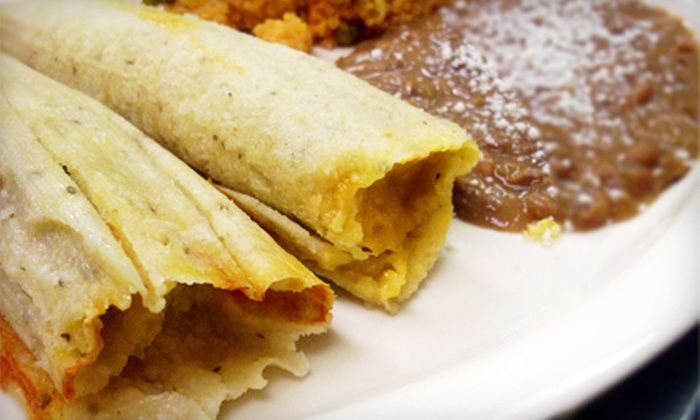 Tamale's Industry - Highland Park: Tamale Meal for Two or Four at Tamale's Industry