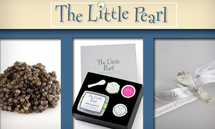 """Little Pearl - Prospect Hill: $45 """"Caviar for Two"""" Gift Box From The Little Pearl ($87.50 Value)"""