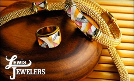 $100 Groupon to Lewis Jewelers - Lewis Jewelers in Ann Arbor