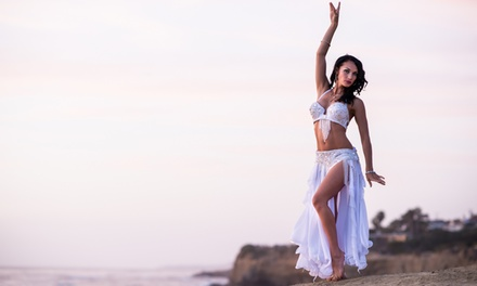 5 or 10 Belly Dancing Classes with Eliza Moon Belly Dancer at The Dancehouse (Up to 57% Off)