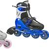 Cobra Girl's or Boy's Adjustable Inline Skates