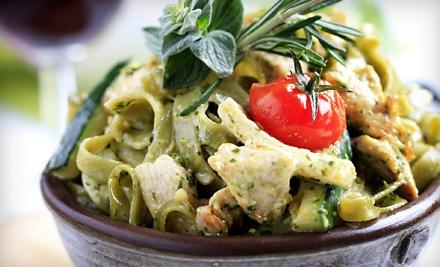 Fiorello Ristorante Italiano: 1 Appetizer and a Choice of 2 Pastas or 2 Entrees - Fiorello Ristorante Italiano in Newport News