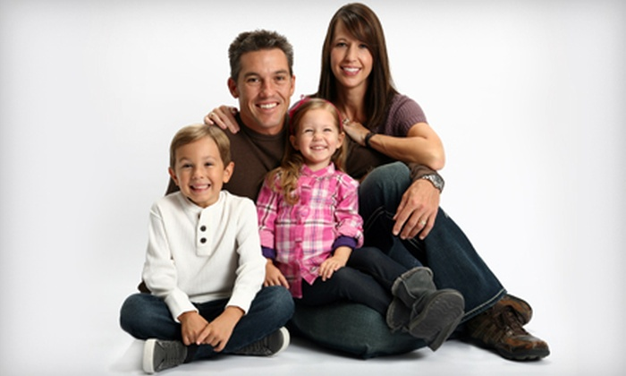 Picture People - The Mall at Wellington Green: $16 for Eight Color Portrait Sheets ($144 Value) Plus Photo Shoot at Picture People