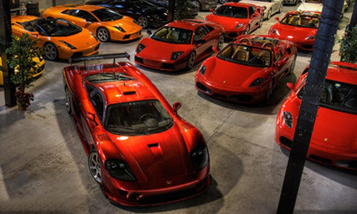 Gotham Dream Cars - Edison: $99 for a High-Speed Drive in a Ferrari or Lamborghini from Gotham Dream Cars ($249 Value)