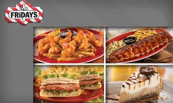 T.G.I. Friday's - Multiple Locations: $10 for $20 Worth of Food With Flare at T.G.I. Friday's