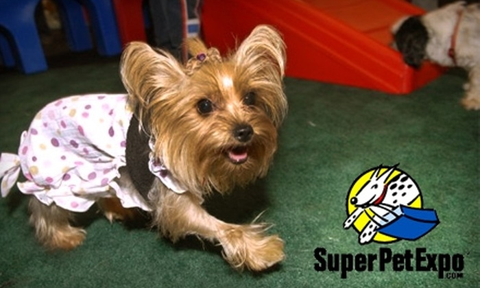 Super Pet Expo - Edison: $10 for a Weekend Pass to Super Pet Expo ($20 Value)