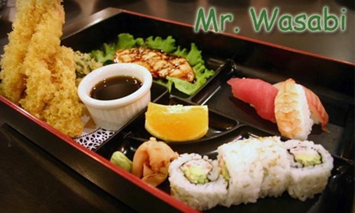 Mr. Wasabi - Mira Mesa: $15 for $30 Worth of Sushi, Sake, and More at Mr. Wasabi