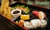 Mr. Wasabi- CLOSED - Mira Mesa: $15 for $30 Worth of Sushi, Sake, and More at Mr. Wasabi