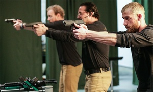 Safe Range: Virtual Shooting/Archery Session for Two or Four at Safe Range (Up to 37% Off). Four Options Available.