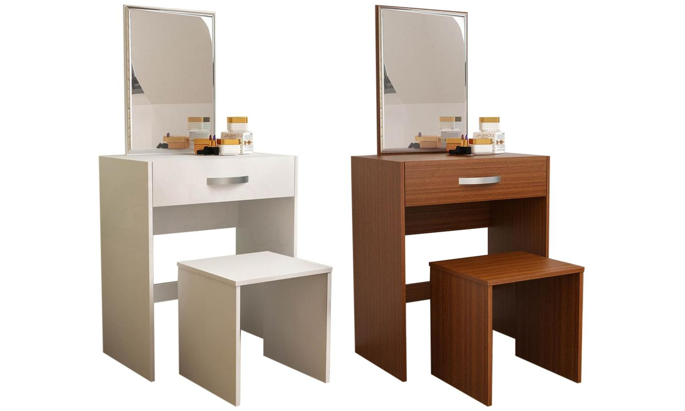 Vida Designs Isla Dressing Table and Stool Set from £48.99 (57% OFF)
