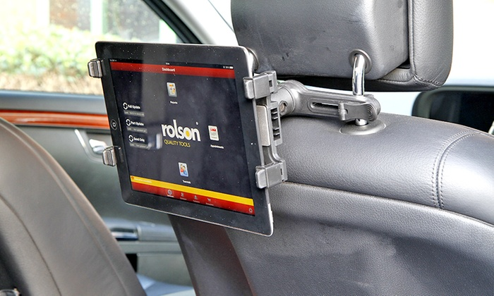 In-Car Holder for iPad or Tablet with Optional Accessories from £7.99