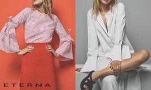 ETERNA Mode: Chemises, chemisiers pour hommes et femmes ... ETERNA : 80 € en bon d'achat pour 40 €, valable sur l'ensemble du site