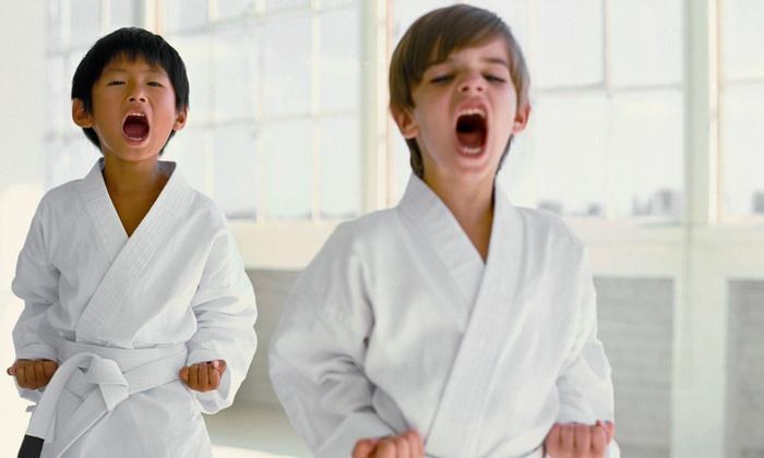 Korea Taekwondo - Kew Garden Hills: 10 or 5 Tae Kwon Do Cardio Boot Camp Classes at Korea Taekwondo (Up to 55% Off)