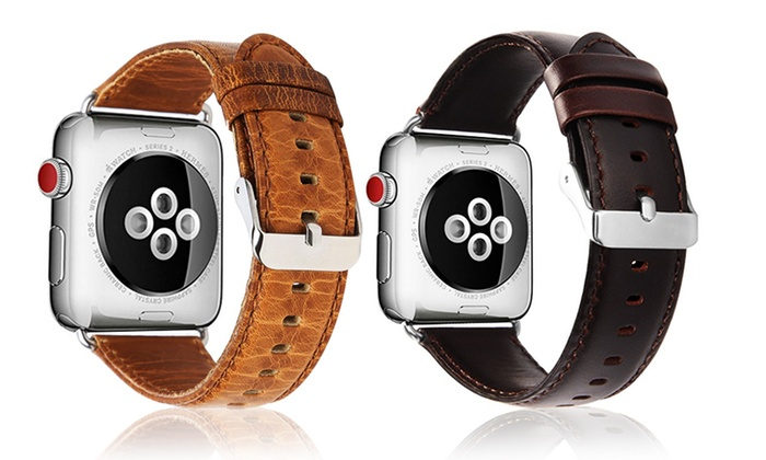 Leather Strap for Apple Watch Series 1, 2 or 3 from £10.99