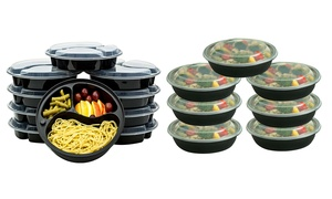 Reusable Food Storage Container Set (20-Pieces) at Reusable Food Storage Container Set (20-Pieces), plus 6.0% Cash Back from Ebates.