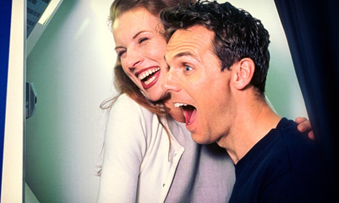 Save the Moment - Houston: Three- or Five-Hour Photo-Booth Rental from Save the Moment (Up to 59% Off)