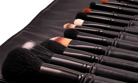 One or Two LaRoc Premium 16 Piece Make Up Brush Sets